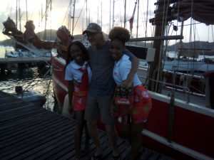 Captain Mark and the Wadadli Girls