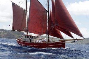 S.Y. Vendia Traditional Ship Grenada